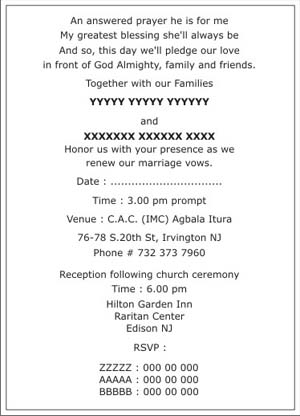 Christian Wedding Invitation Wordings